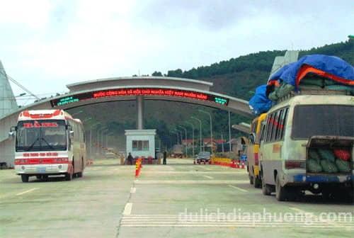 du lịch Cửa khẩu Cầu Treo